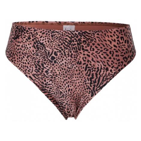 Seafolly Bikinové nohavičky  staroružová / čierna