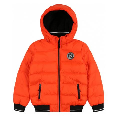 Cars Jeans Zimná bunda 'LENUX'  oranžová