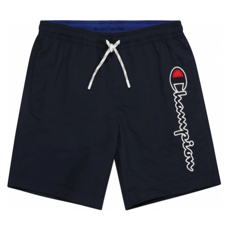 Champion Authentic Athletic Apparel Plavecké šortky  námornícka modrá