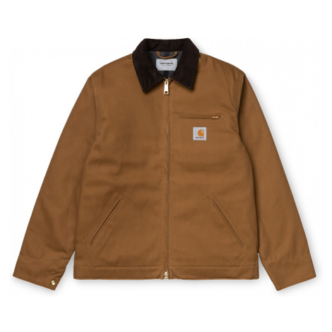 Carhartt WIP Detroit Jacket Hamilton Brown-L hnedé I028424_HZ_01-L