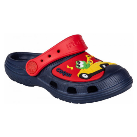 Coqui CROAKY červená - Detské sandále