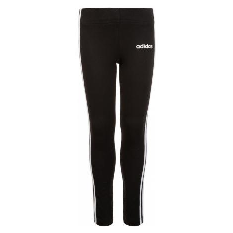 ADIDAS PERFORMANCE Športové nohavice  čierna / biela