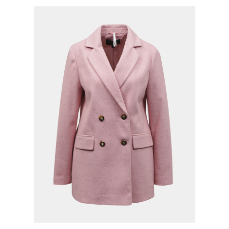 Ružový dámsky kabát Dorothy Perkins