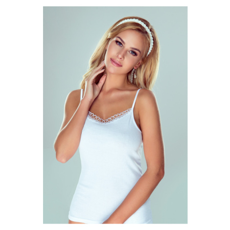 Eldar Woman's Camisole Delfina White