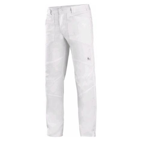 Canis Pánske biele pracovné nohavice CXS EDWARD
