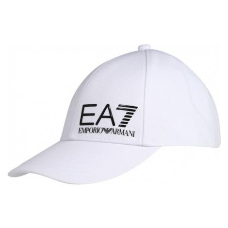 EA7 Emporio Armani Čiapka  biela / čierna