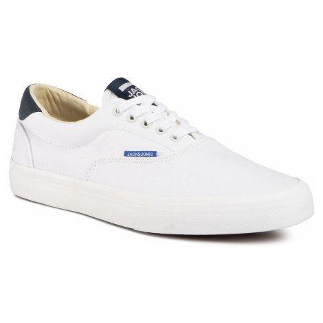 Tenisky JACK&JONES - Jfwmork Canvas 12169267 Bright White Jack & Jones