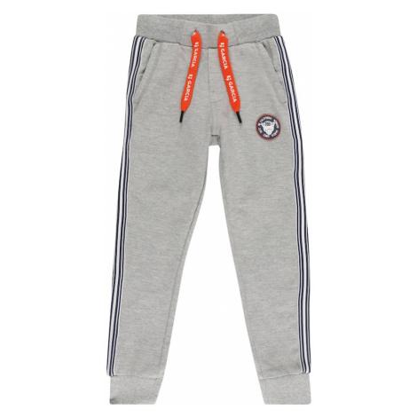 GARCIA Nohavice 'B15725'  sivá melírovaná / biela / tmavomodrá Garcia Jeans