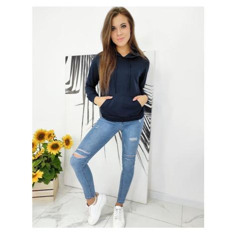 MODIVOS women's sweatshirt navy BY0579 DStreet
