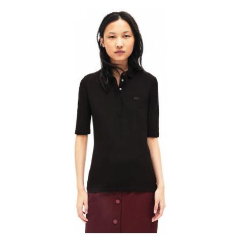 Lacoste S S/S BEST POLO čierna - Dámske polo tričko
