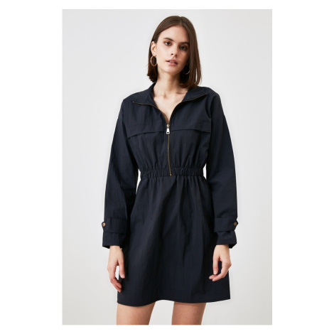 Trendyol Navy Zip Dress