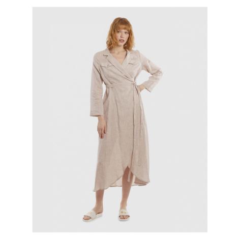Šaty s dlhým rukávom