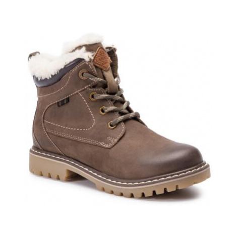 Šnurovacia obuv Lasocki Kids CI12-ASPEN-01 Prírodná koža(useň) - Nubuk