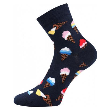 Boma PATTE 041 čierna - Vysoké ponožky