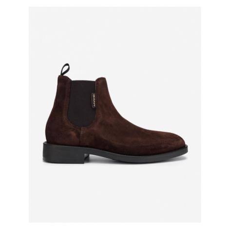 Gant Brockwill Členkové topánky Hnedá