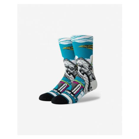 Stance Warped Boba Ponožky Modrá