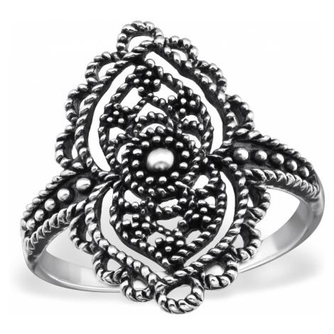 OLIVIE Strieborný prsteň OX 1021