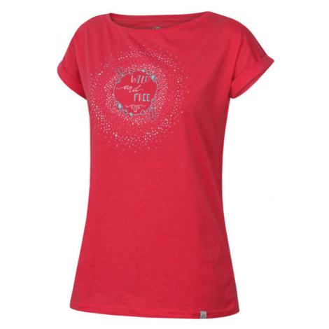 Hannah SURRI ružová - Dámske tričko