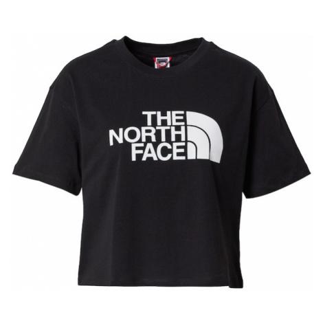 THE NORTH FACE Tričko 'EASY'  čierna / biela