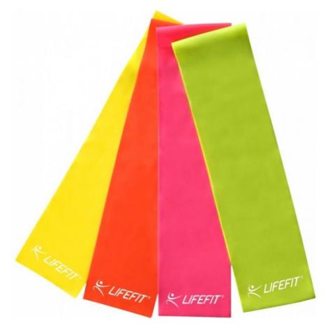 Lifefit GUMA 0,45MM žltá - Gymnastická guma