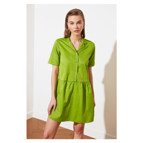 Trendyol Green Shirt Dress