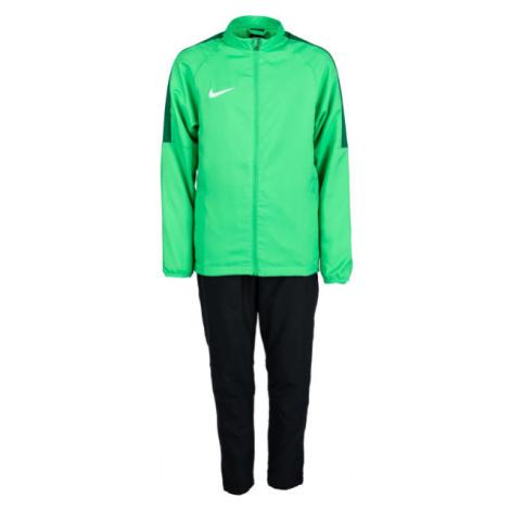 Nike DRY ACDMY18 TRK SUIT W Y zelená - Chlapčenská futbalová súprava