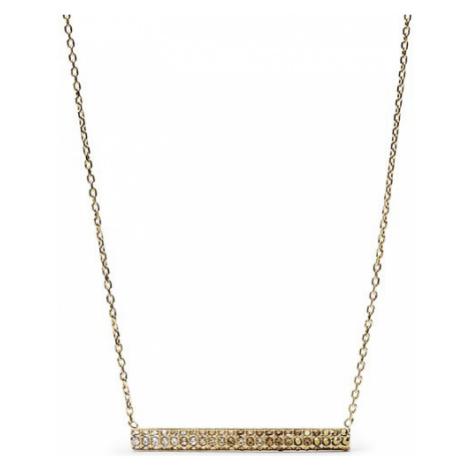 Fossil Zlatý náhrdelník s kryštálmi JF02143710