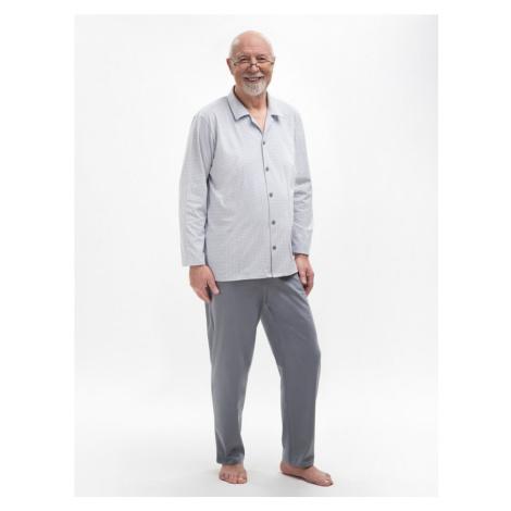 Rozopínanie pánske pyžamo Martel Antoni 403 dl / r M-2XL