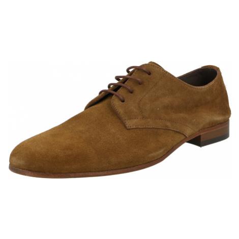 Hudson London Šnurovacie topánky 'ATTOCK'  brokátová