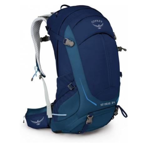 Osprey STRATOS 34 II M/L modrá - Turistický batoh