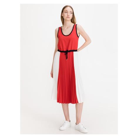 Šaty Tommy Hilfiger Červená