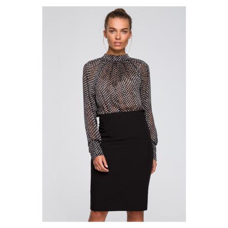 Čierna sukňa S248