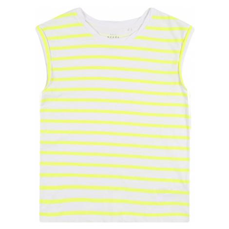 NAME IT Top  sivá / žltá
