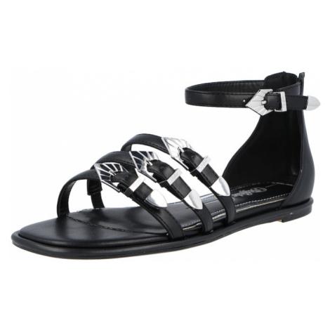 BUFFALO Sandále 'RIEKE'  čierna