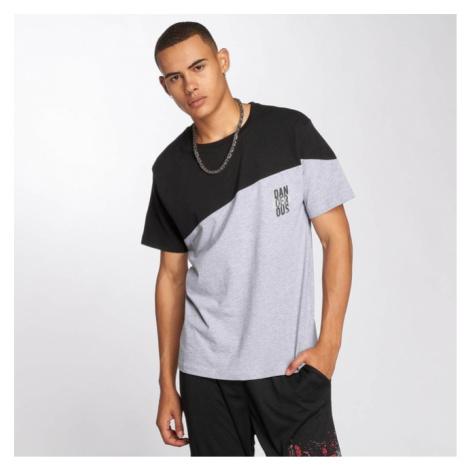Dangerous DNGRS / T-Shirt Dangerscript in grey - Veľkosť:S