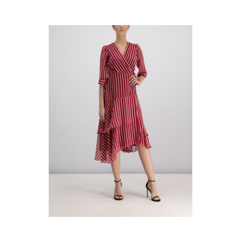 Marella Každodenné šaty 32263398 Červená Regular Fit