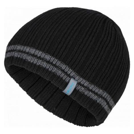 Lewro ARCANINE čierna - Chlapčenská čiapka