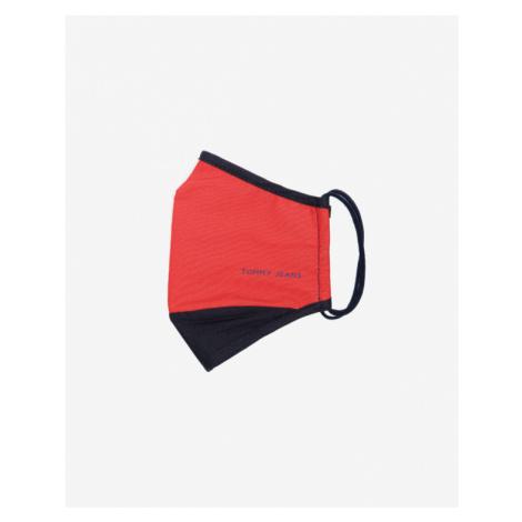 Tommy Jeans Rúška Červená Biela Tommy Hilfiger