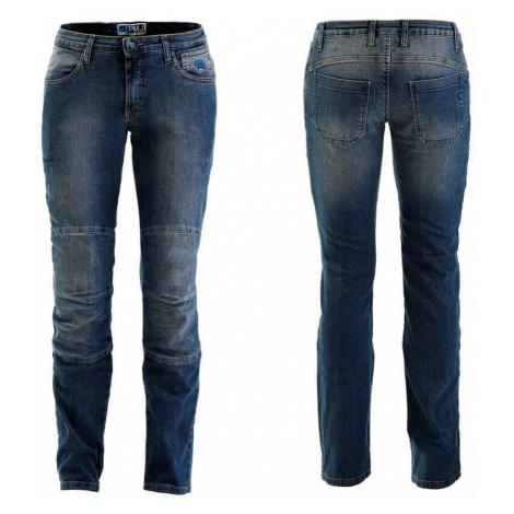Dámske moto jeansy PMJ Carolina CE Farba modrá