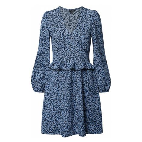 Miss Selfridge Šaty  modrá / čierna