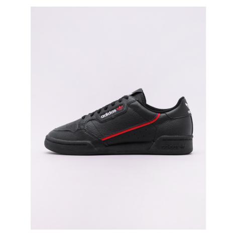 adidas Originals Continental 80 Core Black / Scarlet / Collegiate Navy