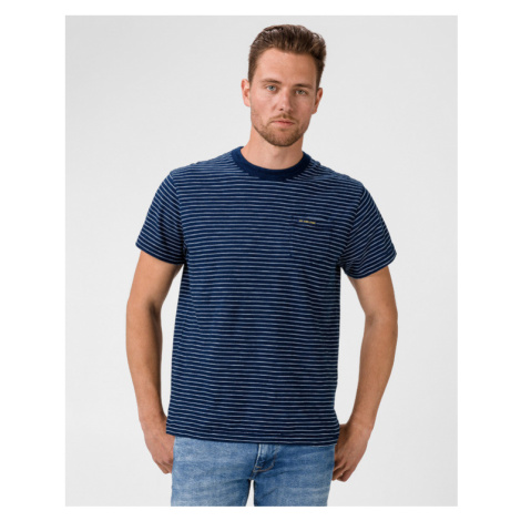 Pepe Jeans Gibbon Tričko Modrá