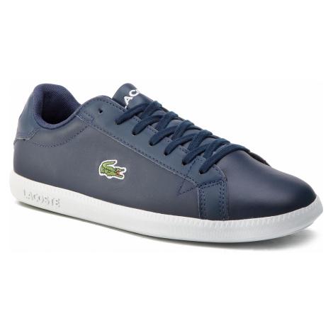 Sneakersy LACOSTE - Graduate Bl 1 Sma 7-37SMA0053092 Nvy/Wht