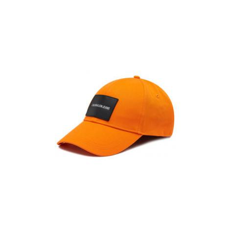 Calvin Klein Jeans Šiltovka Patch Cap K50K506572 Oranžová