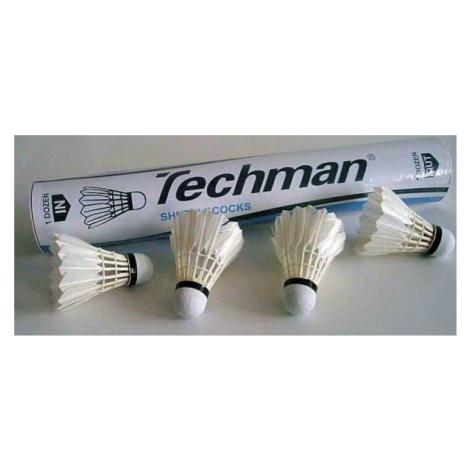 Míček badminton Sedco - peří bílé BS2105 doprodej - bílá