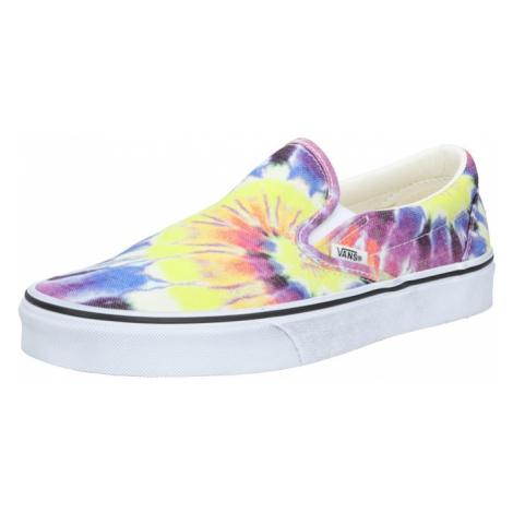 VANS Slip-on obuv  žltá / zmiešané farby / tmavofialová / dymovo modrá / biela
