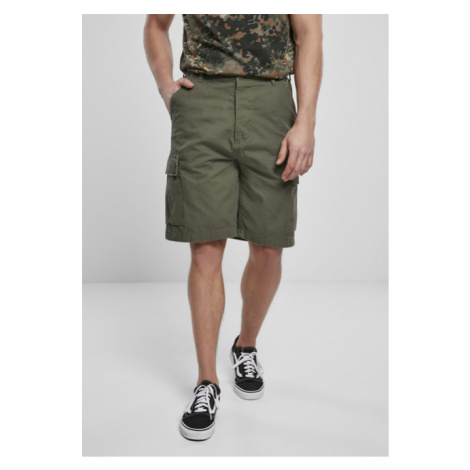 Urban Classics BDU Ripstop Shorts olive - Veľkosť:7XL