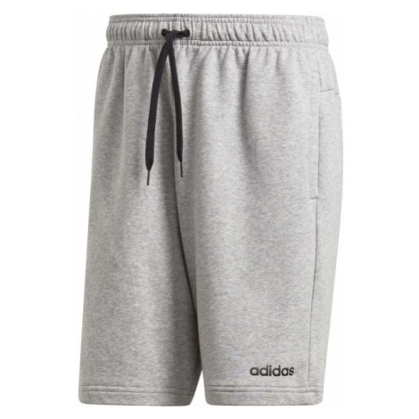 adidas ESSENTIALS PLAIN SHORT FRENCH TERRY sivá - Pánske šortky