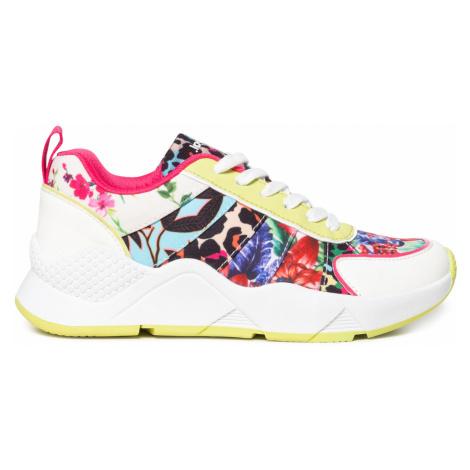 Desigual farebné tenisky Shoes Hydra Leopard