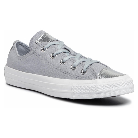 Tramky CONVERSE - Ctas Ox 565202C Wolf Grey/Wolf Grey/White